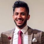 Arun Wigneswaran (rodilý mluvčí z UK)